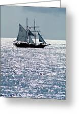 Seascape Greeting Card by Anonymous