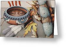 Season Of Remembrance Greeting Card by Amy S Turner