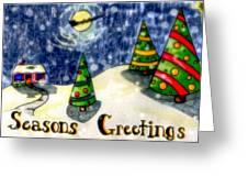 Seasons Greetings Greeting Card by Jame Hayes