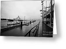 seaspan marine tugboat dock city of north Vancouver BC Canada Greeting Card by Joe Fox