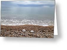 Seaton Beach 1 Greeting Card by Scott Wilmot
