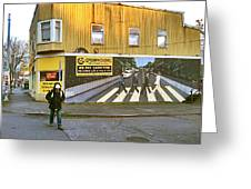 Seattle 2014. Greeting Card by Frank Winters