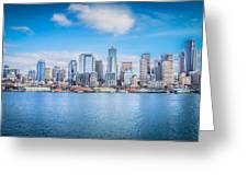 Seattle Days Greeting Card by Shelby Hall