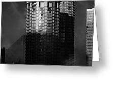 Seattle Towers Greeting Card by Paul Bartoszek