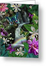 Secret Butterfly Greeting Card by Alixandra Mullins