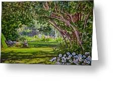 Secret Garden Greeting Card by Omaste Witkowski