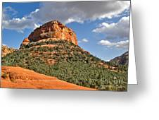 Sedona Arizona Mountain View Greeting Card by Gregory Dyer