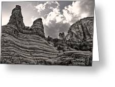 Sedona Arizona Mountains - 01 Greeting Card by Gregory Dyer