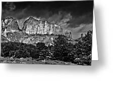 Sedona Arizona - Winter Greeting Card by Bob and Nadine Johnston