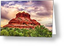 Sedona Bell Rock Vortex In Spring Greeting Card by Bob and Nadine Johnston