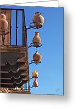 Sedona Jugs Greeting Card by Ben and Raisa Gertsberg