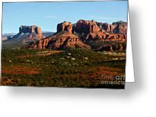 Sedona Landscape Greeting Card by Jon Burch Photography
