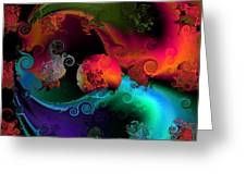 Seperation and individuation Greeting Card by Claude McCoy