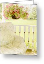 Serenity Greeting Card by Margie Hurwich