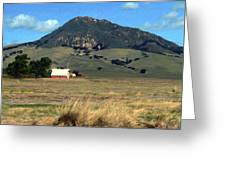 Serenity Under Bishops Peak Greeting Card by Kurt Van Wagner