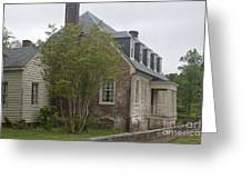 Sessions House Yorktown Greeting Card by Teresa Mucha