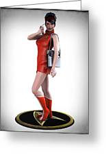 Sexy Trekky Greeting Card by Frederico Borges