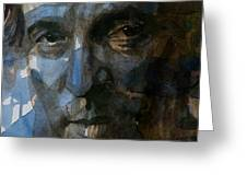 Shackled And Drawn Greeting Card by Paul Lovering