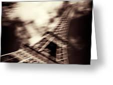 Shades of Paris Greeting Card by Dave Bowman