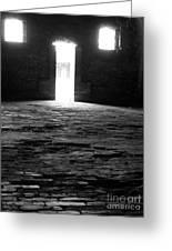 Shadow Windows  Greeting Card by KayLee Byrtus