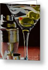 Shaken Not Stirred Greeting Card by Cory Still