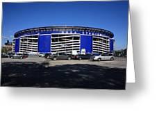 Shea Stadium - New York Mets Greeting Card by Frank Romeo
