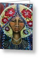 Shekinah Rising  Greeting Card by Maya Telford