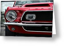 Shelby Mustang Greeting Card by Gordon Dean II