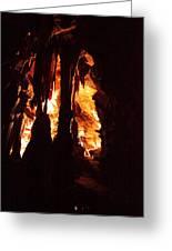 Shenandoah Caverns - 121247 Greeting Card by DC Photographer