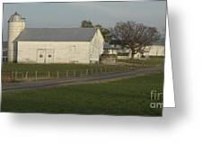 Shenandoah Valley Farm Panorama Greeting Card by Anna Lisa Yoder