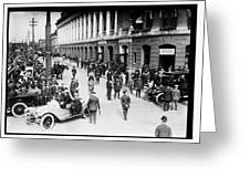 Shibe Park 1914 Greeting Card by Bill Cannon