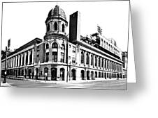 Shibe Park Greeting Card by Benjamin Yeager
