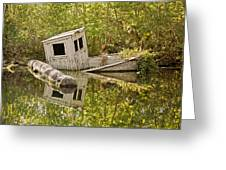 Shipwreck Silver Springs Florida Greeting Card by Christine Till