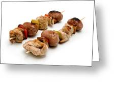 Shish Kebab Greeting Card by Fabrizio Troiani