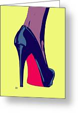 Shoe Greeting Card by Giuseppe Cristiano