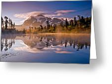 Shuksan Sunrise Greeting Card by Darren  White