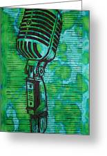 Shure 55s Greeting Card by William Cauthern