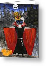 Siamese Queen Of Transylvania Greeting Card by Jamie Frier