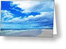 Siesta Sky - Beach Art By Sharon Cummings Greeting Card by Sharon Cummings