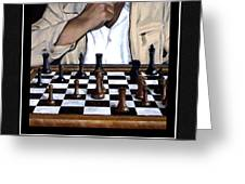 Your Move Greeting Card by Andrew Wells