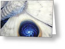 Signature Of The Universe Greeting Card by Lucy West