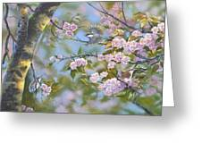 Signs Of Spring Greeting Card by Michael Ashmen