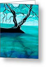 Silent Beauty Greeting Card by Angie Phillips