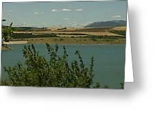 Silent Lake Bulgaria Greeting Card by Andreea Alecu