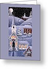 Silent Night Greeting Card by Catherine Holman