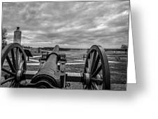 Silent Vigil at Gettysburg Greeting Card by Mountain Dreams