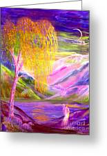 Silent Waters Greeting Card by Jane Small