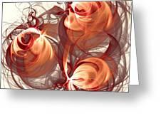 Silk Labyrinth Greeting Card by Anastasiya Malakhova