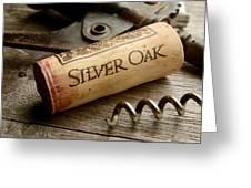 Silver On Silver Greeting Card by Jon Neidert