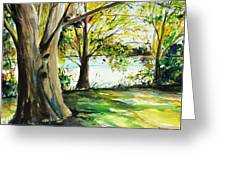 Singeltary Shade Greeting Card by Scott Nelson